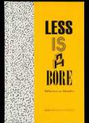 Less is a bore, reflections on Memphis, Spector books