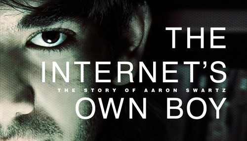 The Internet's Own Boy Affiche